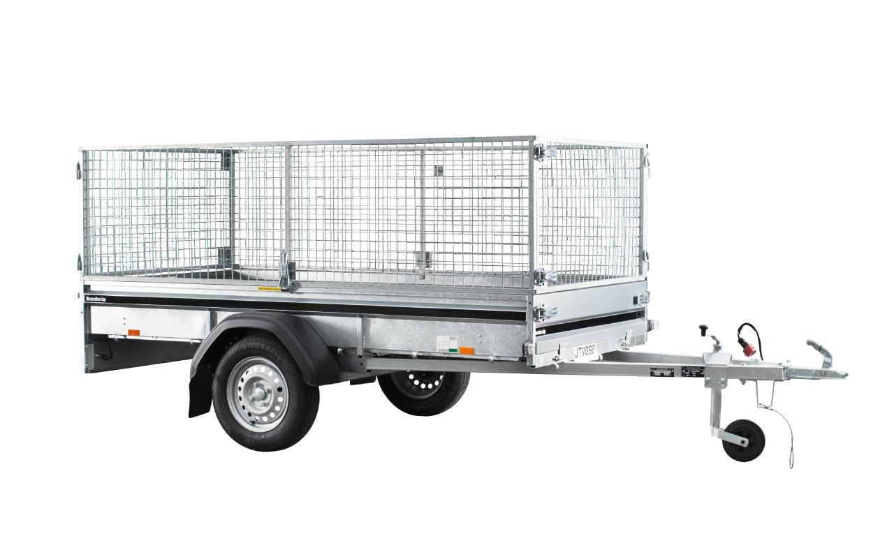 släpvagn 750 kg